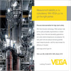 VEGA Grieshaber KG is a world-leading supplier of level, switching and pressure instrumentation.